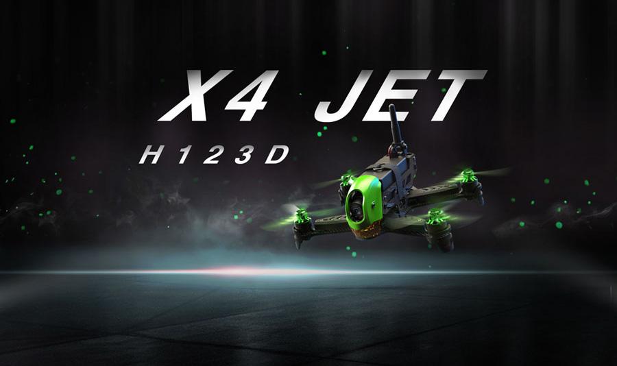 Hubsan X4 Jet kezdő versenydrón