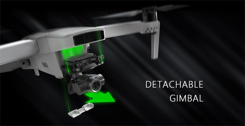 Hubsan Zino 2 kamerás drón levehető gimballal
