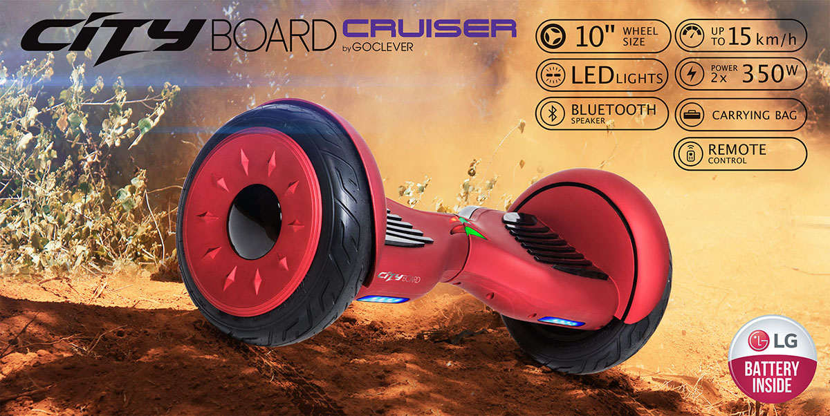 GoClever City Board Cruiser