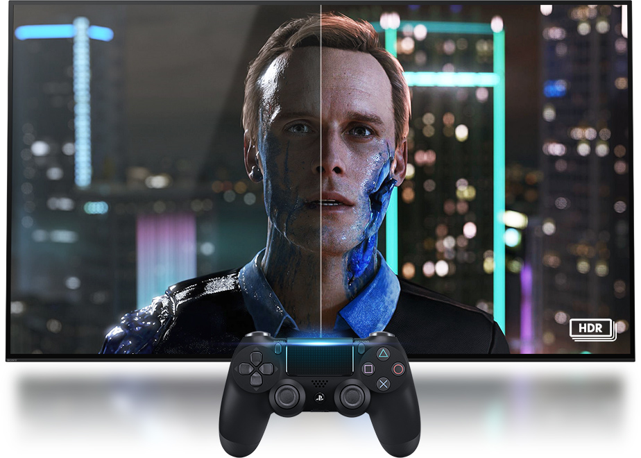 Playstation 4 Pro HDR