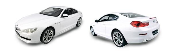Rastar 6-os BMW fehér színben