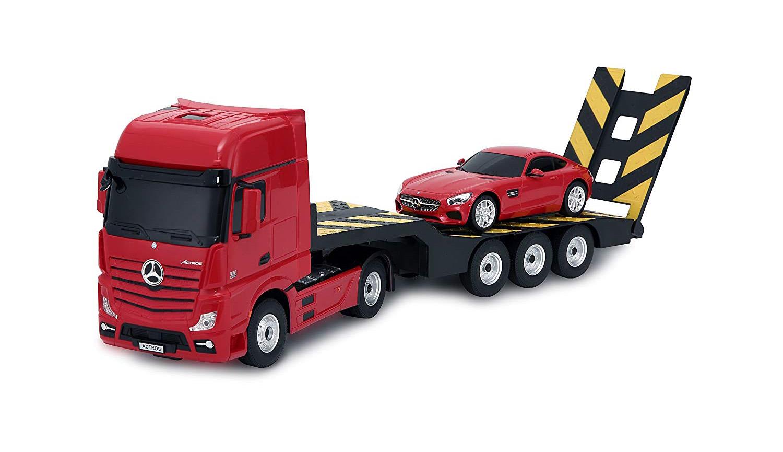 Rastar Mercedes-Benz Actros távirányítós kamion és AMG GT autó