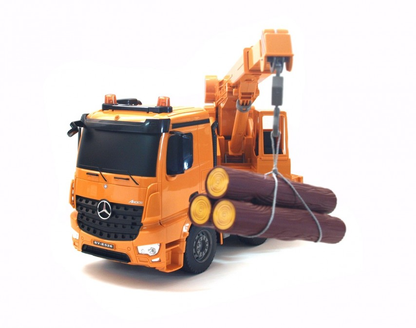 Double Eagel távirányítós darus teherautó