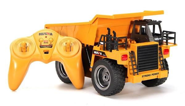 Távirányítós billenős teherautó