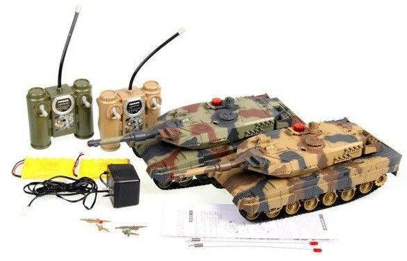 Unifun Abrams távirányítós tank szett
