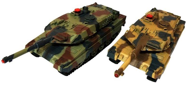 Unifun Abrams RC tank szett