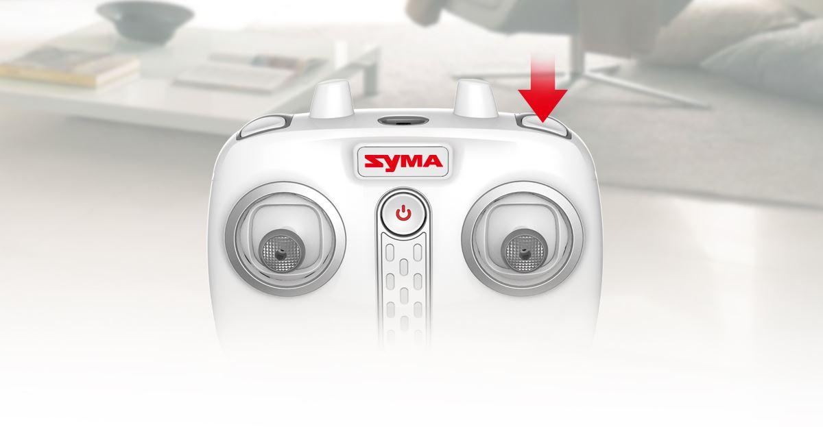 Syma S107H Phantom sebesség módok