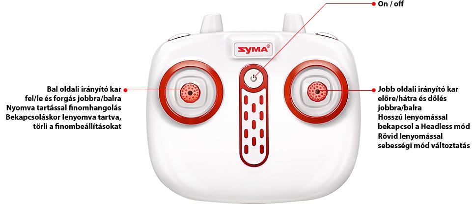 Syma Z3 távirányító