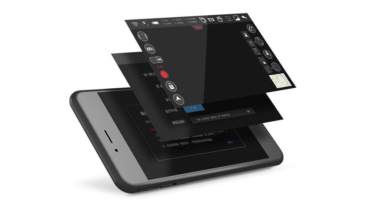 Syma W1 Pro mobilos alkalmazás