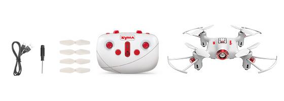 Syma X20 tartozékok