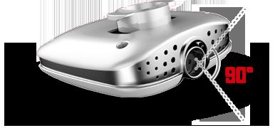 Syma X25 Pro kamera