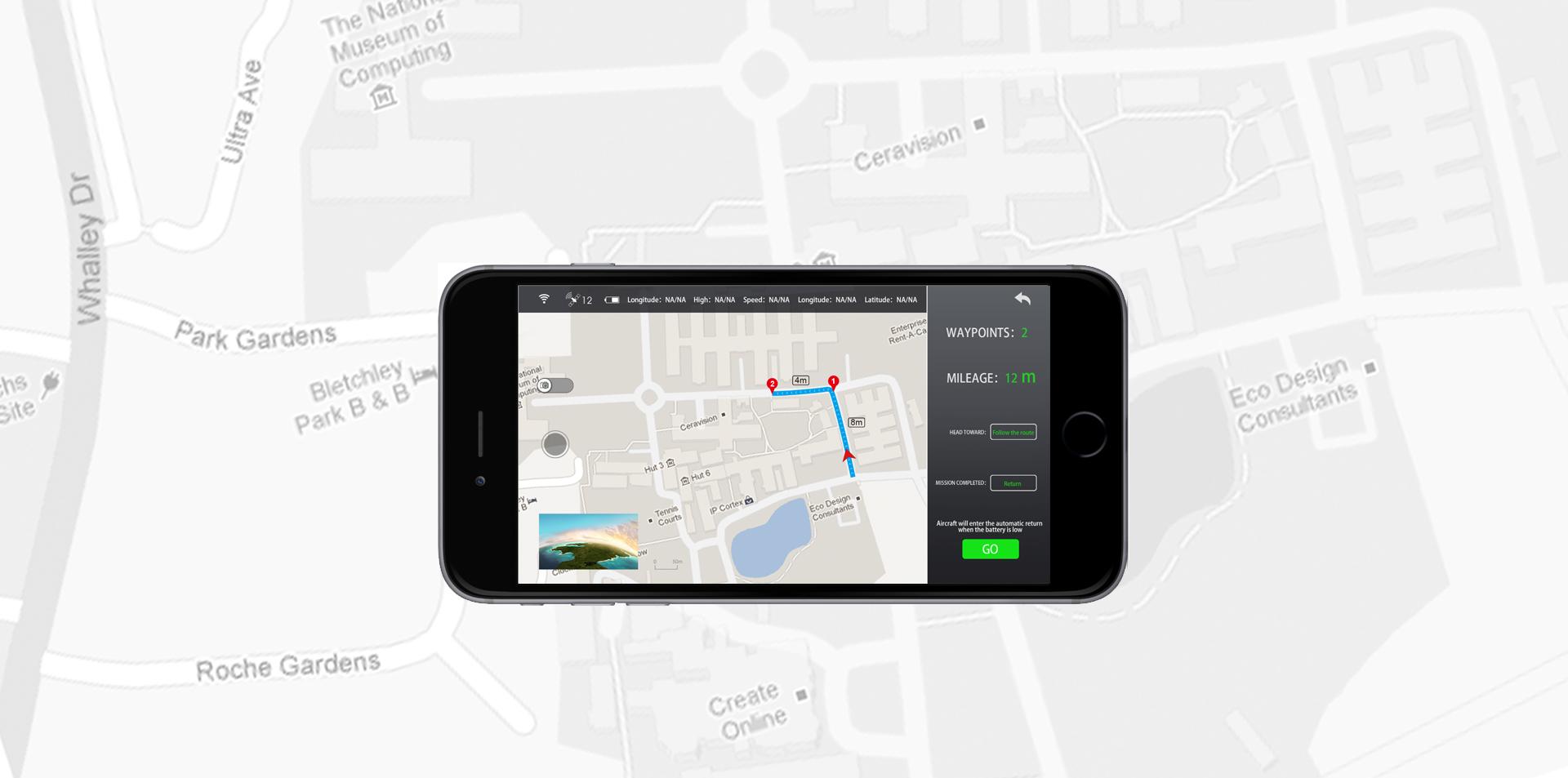 Syma X25 Pro GPS útvonal repülés
