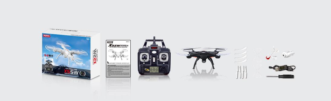 Syma X5SW kamerás drón