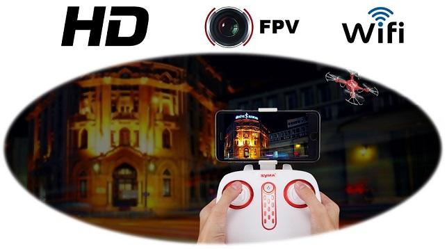 Syma X5UW-D FPV funkcióval