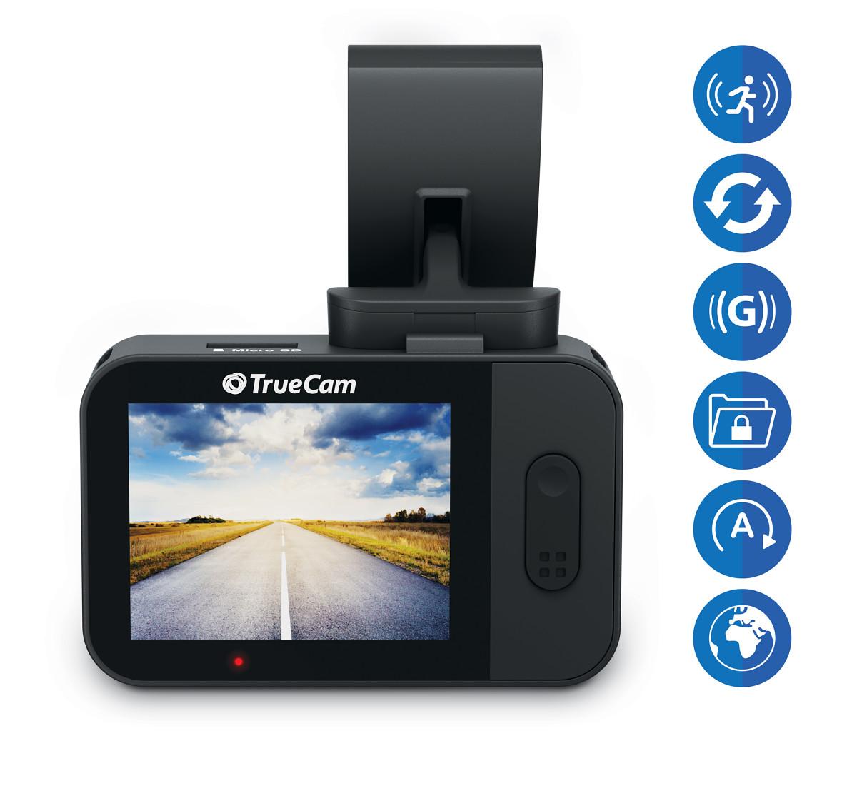 TrueCam M5 WiFi felszereltsége