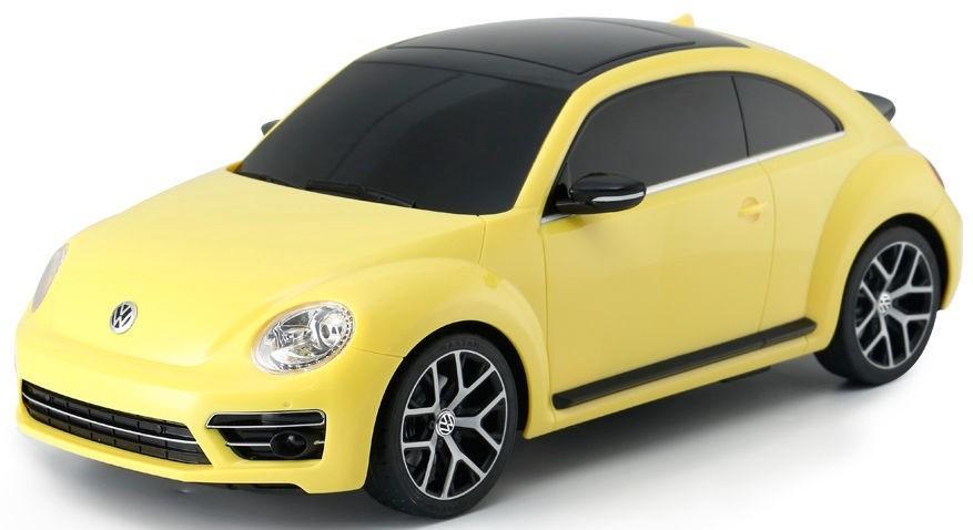Sárga színű Rastar Volkswagen Beetle/Bogár távirányítós autó