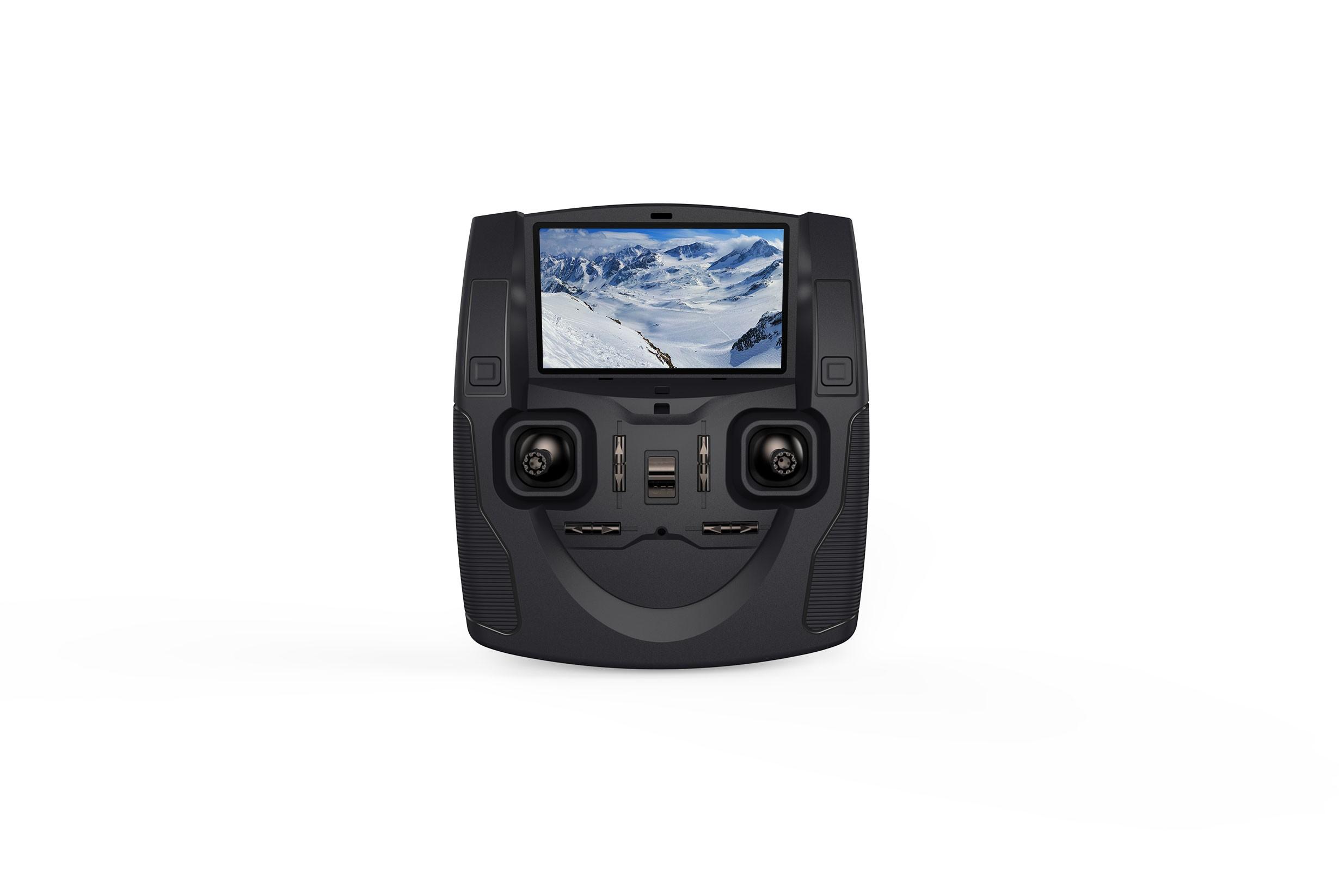 Hubsan H107D+ drón kijelzős távirányítója