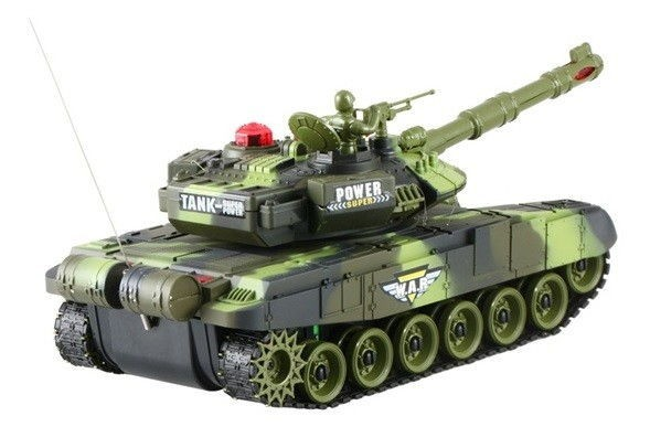 Brother Toys One T-90 1:16 távirányítós tank zöld terepszínben