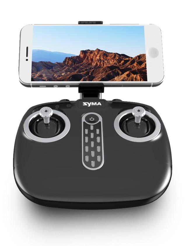 A Syma X56W Pro drón távirányítója