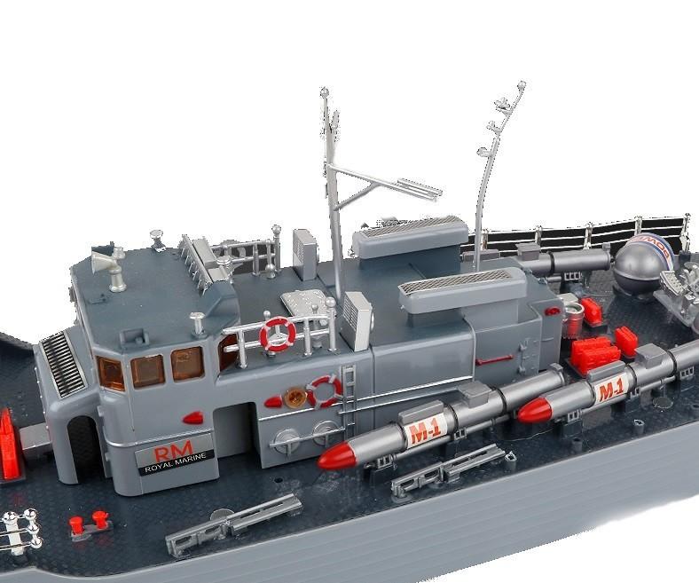HT Torpedó távirányítós hajó