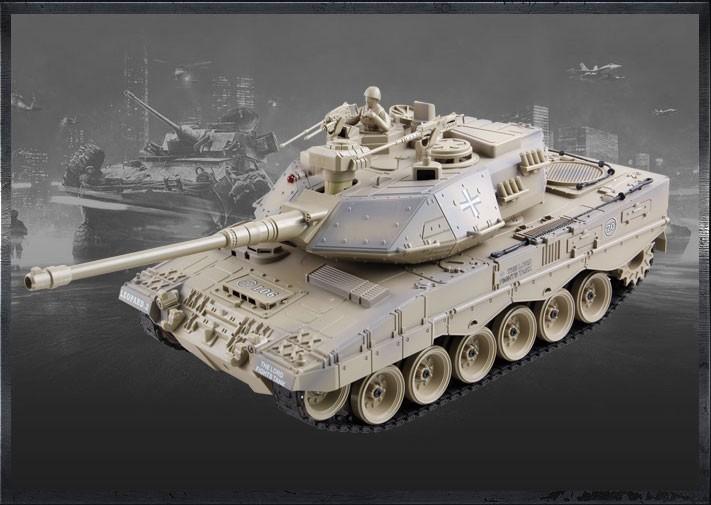 Zegan Német Leopárd 2 távirányítós tank