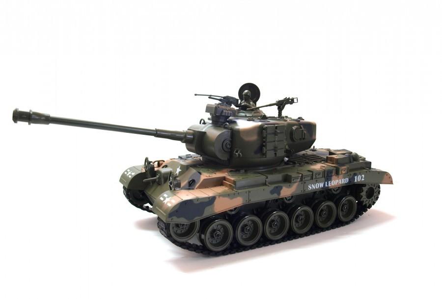 Zegan M26 Snow Leopard távirányítós tank